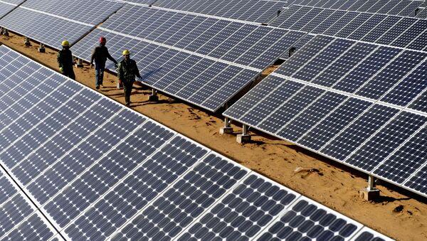 テスラとパナソニック、太陽電池製造で提携 - Sputnik 日本