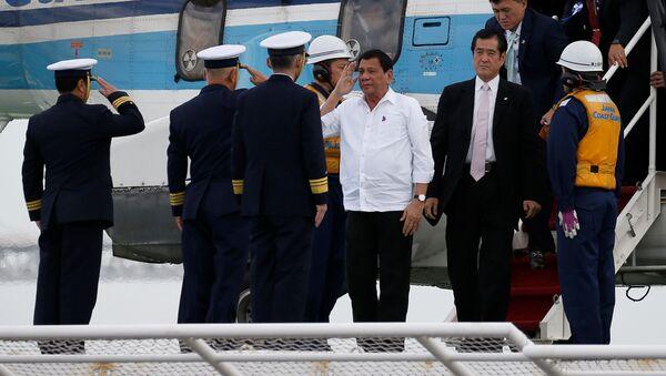 嵐を呼んだフィリピン大統領訪日:日本人専門家「日中は、天秤にかけられてはいない」 - Sputnik 日本