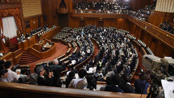 日本 自民党総裁選が告示 4名が立候補の届け出を行う - Sputnik 日本