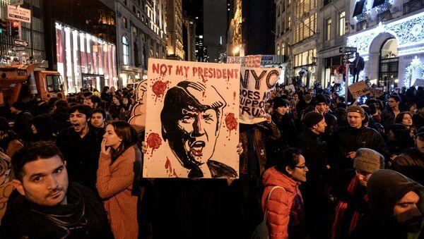 反トランプ勢力 大統領宣誓式を台無しにするため大衆抗議活動を準備 - Sputnik 日本