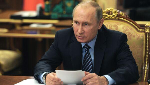 プーチン大統領、ロシアにとって主たるパートナーは中国 - Sputnik 日本