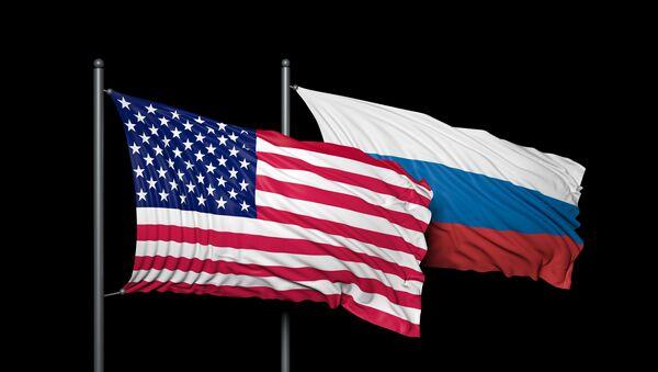 ロシア・アメリカ両国国旗 - Sputnik 日本