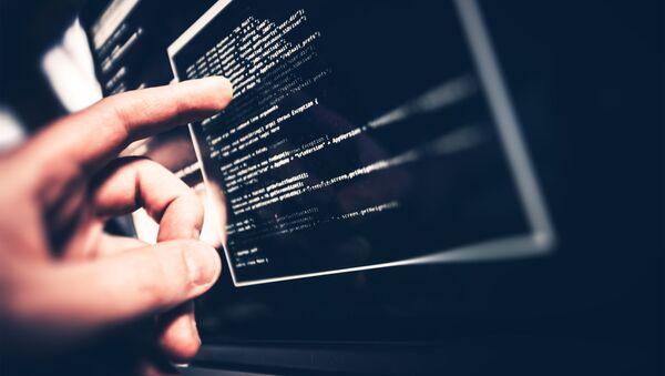 Программные коды на экране компьютера - Sputnik 日本
