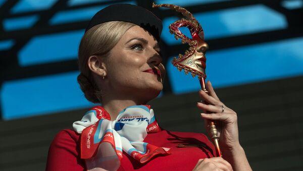 モスクワでロシアのスチュワーデスコンテストの結果が発表される【写真】 - Sputnik 日本