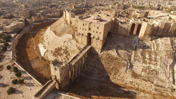 アレッポの城塞、市民向けに再び開放される - Sputnik 日本