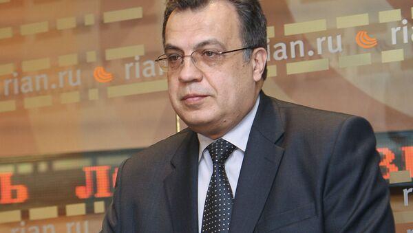 Директор Консульского департамента Министерства иностранных дел РФ Андрей Карлов - Sputnik 日本