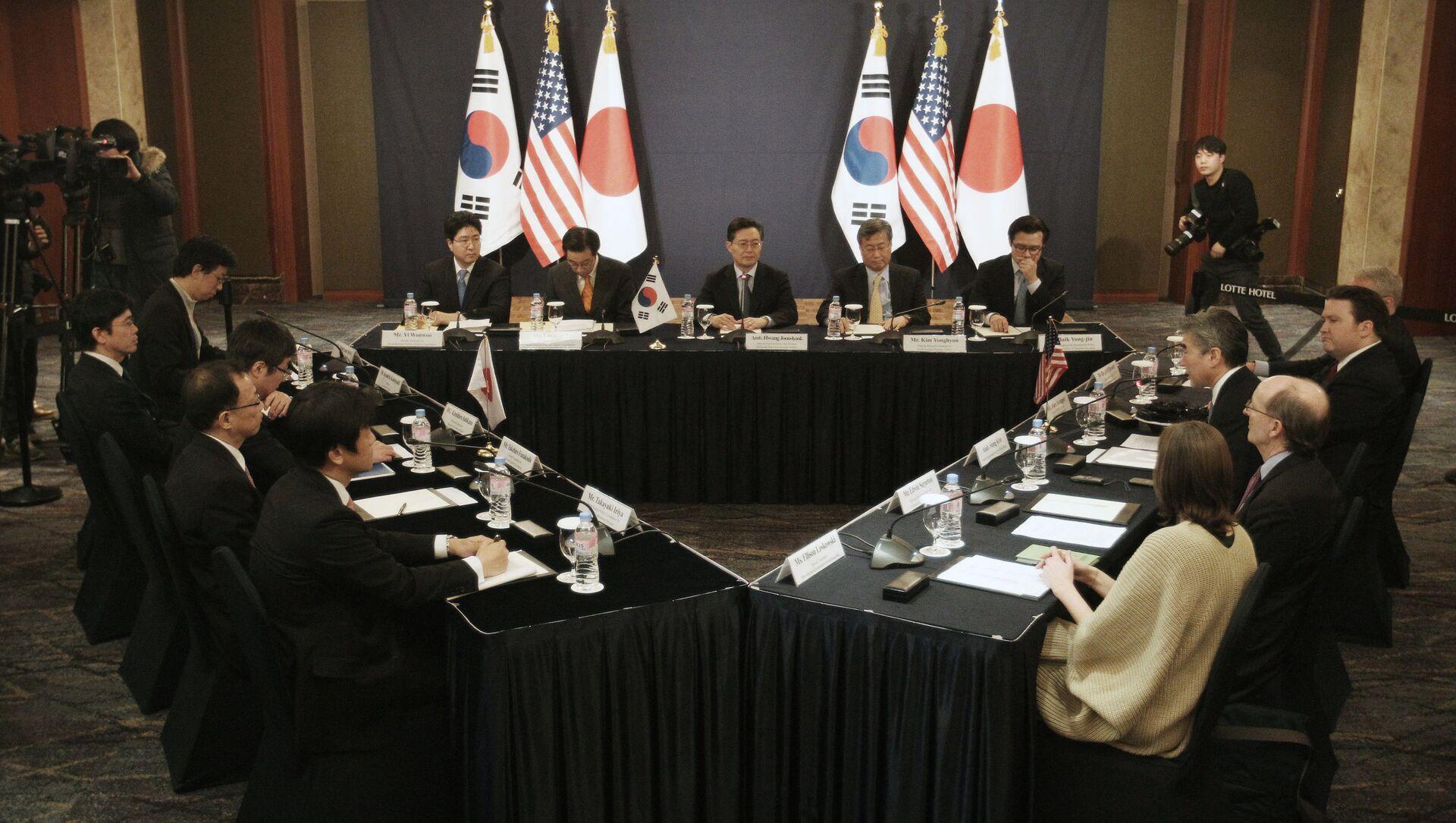 日米韓会議(2016年) - Sputnik 日本, 1920, 03.04.2021