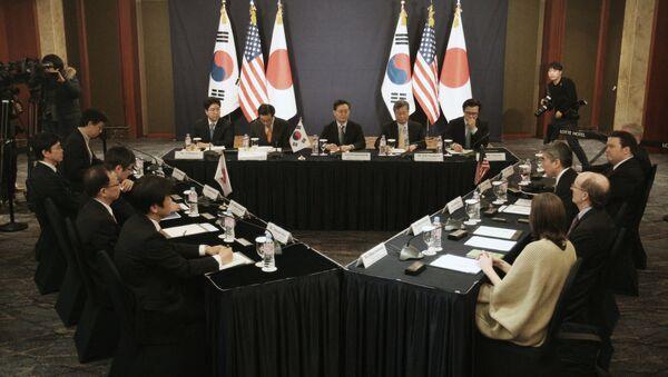 日米韓会議(2016年) - Sputnik 日本