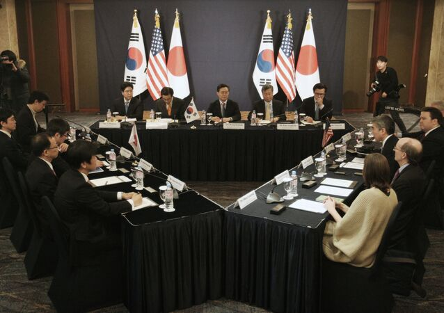 日米韓会議(2016年)