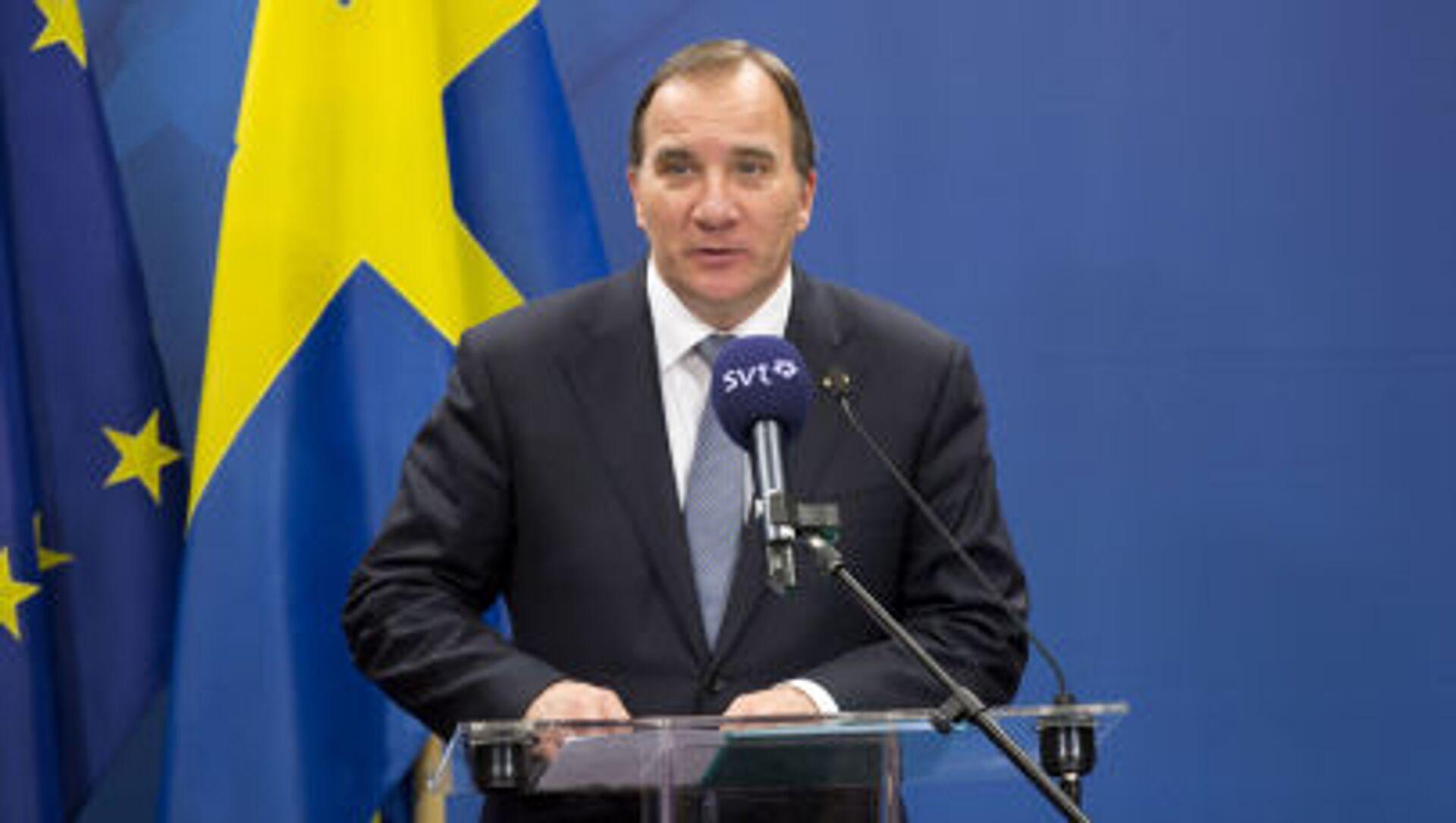 スウェーデン首相、辞任表明 - Sputnik 日本, 1920, 28.06.2021