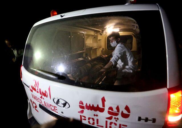 アフガニスタンの救急車