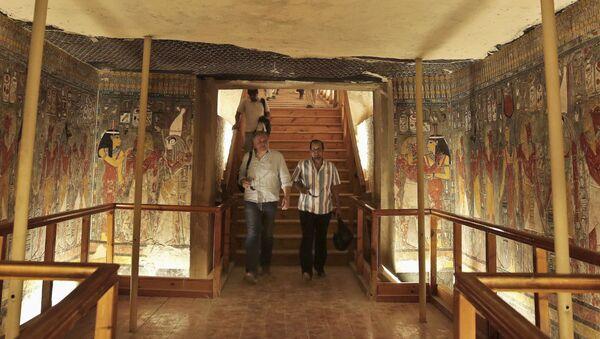 エジプト ツタンカーメンの妻の墓所がとうとう明らかに - Sputnik 日本