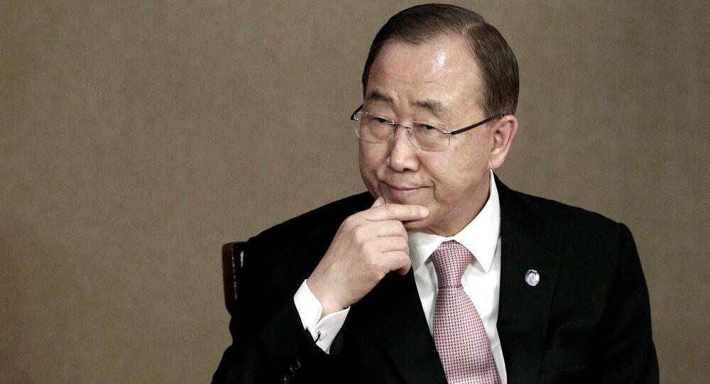 元国連事務総長の潘基文氏