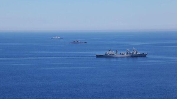 ロシアと中国の軍艦 - Sputnik 日本