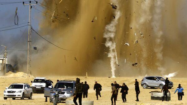 イスラエル空軍、ガザ攻撃 25人が負傷 - Sputnik 日本