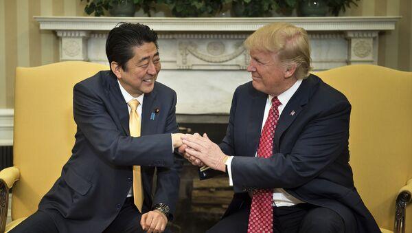 安倍首相、トランプ(アーカイブ) - Sputnik 日本