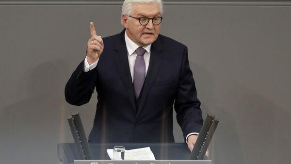 Избранный президент Германии Франк-Вальтер Штайнмайер - Sputnik 日本