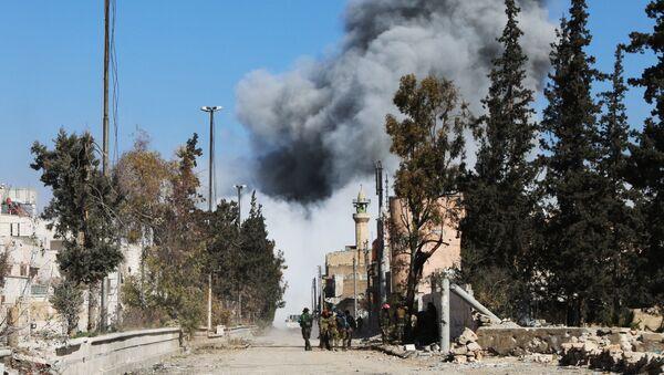 ロシアの仲介でアレッポ県アルバブの東の領域を クルド人義勇軍 によって シリア軍に引渡す合意が実現 - Sputnik 日本