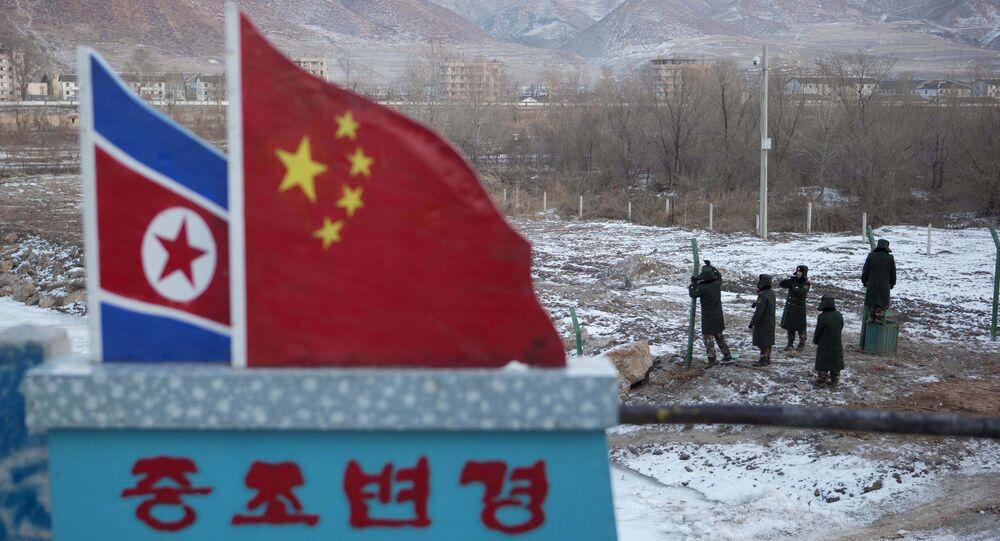 北朝鮮と中国の国境
