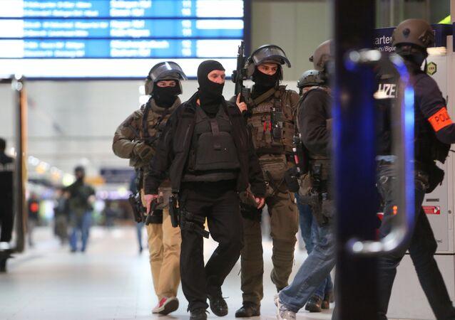 Axe Attack at German Train Station