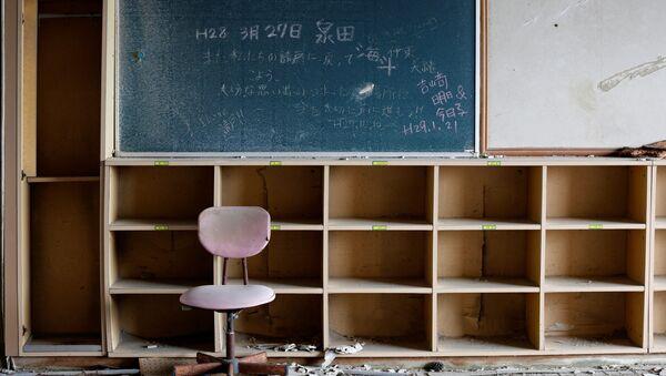 福島県浪江町にある請戸小学校 2011年3月11日の津波は教室を襲った - Sputnik 日本