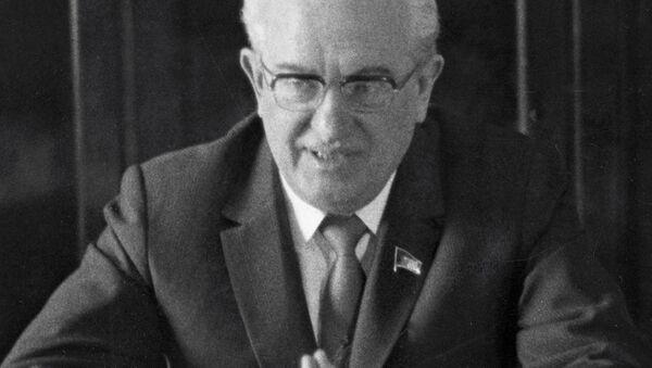 ソ連の指導者ユーリ・アンドロポフ - Sputnik 日本