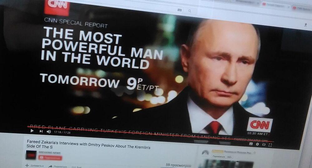 「世界で最も強大な人間」ーCNNがプーチン大統領に関する映画を公開