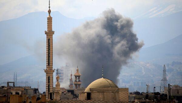 シリア、有志連合がシリア軍を攻撃したと発表 - Sputnik 日本