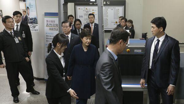 2017年3月30日の朴槿恵前大統領 - Sputnik 日本