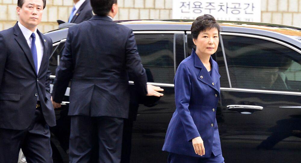 朴前大統領を起訴へ 韓国、巨額収賄で逮捕