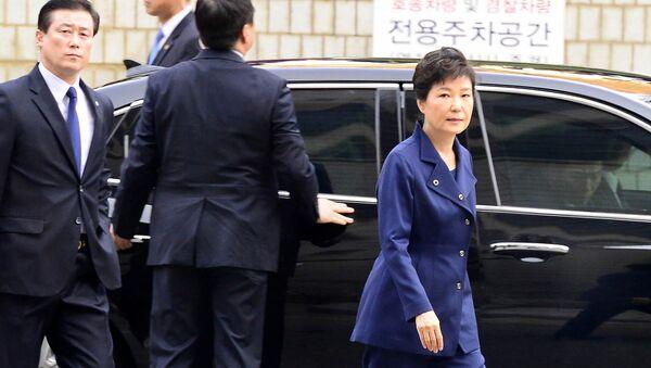 懲役25年と罰金20億円 韓国の朴前大統領が裁判をボイコット - Sputnik 日本