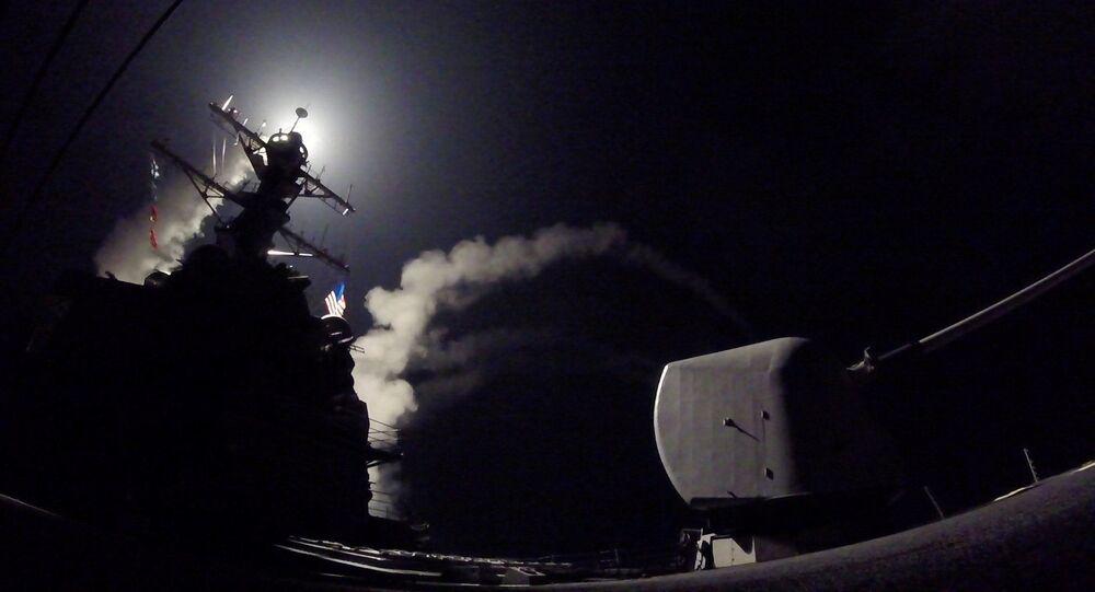米人権活動家:米国のシリア攻撃は核戦争を引き起こす恐れ