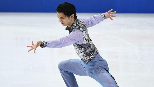Юдзуру Ханю в короткой программе мужского одиночного катания на чемпионате мира по фигурному катанию в Хельсинки - Sputnik 日本