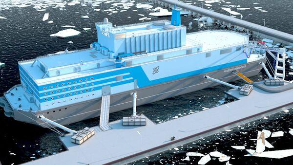 世界初の水上原発が2019年極東に - Sputnik 日本