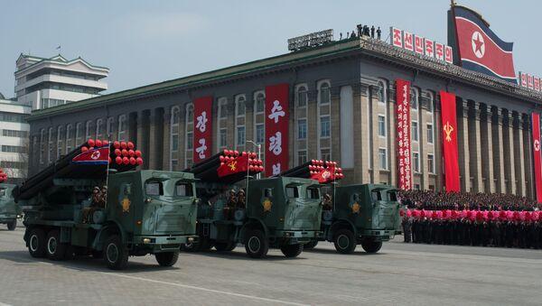 菅氏 ミサイル、北朝鮮内陸部に落下 - Sputnik 日本