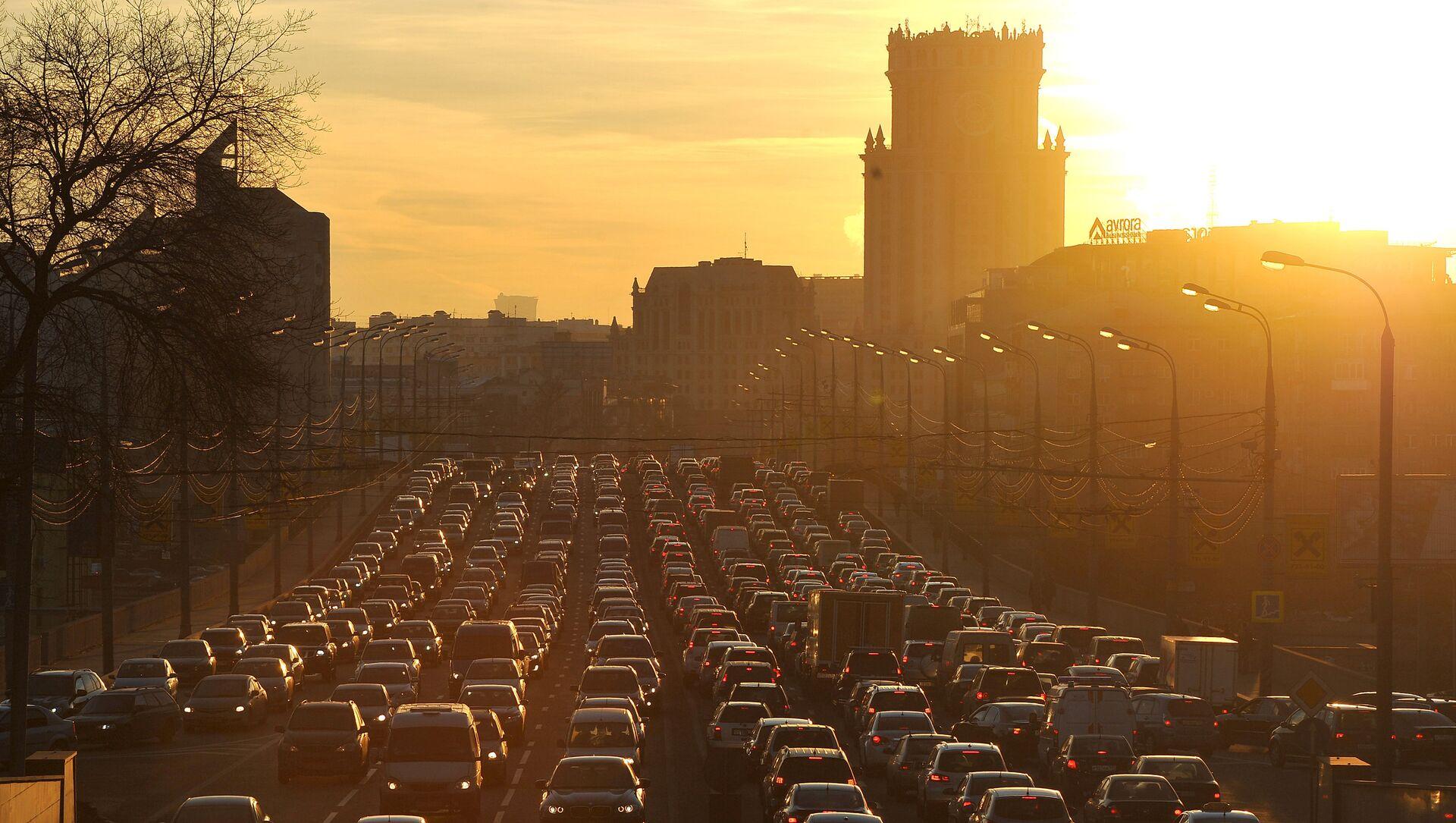 モスクワ、大渋滞 - Sputnik 日本, 1920, 22.05.2021