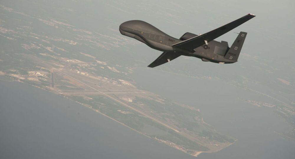 米空軍無人機、黒海のロシア国境上空付近で偵察