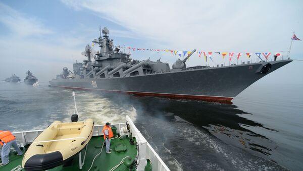 ロシア巡洋艦「ヴァリャーグ」、南シナ海での演習に参加 - Sputnik 日本