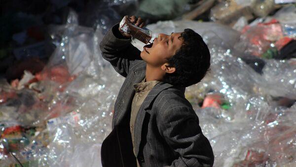 イエメンの少年 - Sputnik 日本