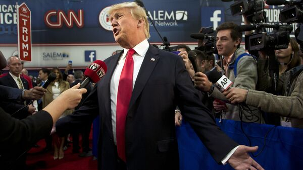 CNN ほぼ全ての放送をトランプ大統領の批判に費やす - Sputnik 日本