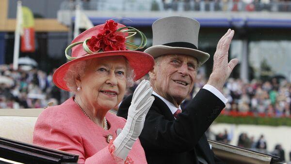フィリップ殿下とエリザベス女王 - Sputnik 日本