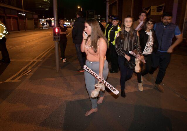 マンチェスターの爆発 死者が22人に 警察発表