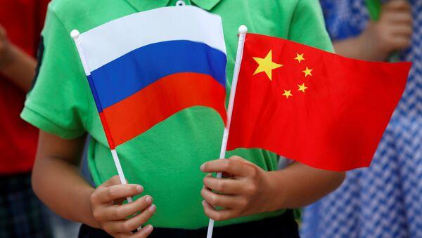 ロシアと日本の旗 - Sputnik 日本