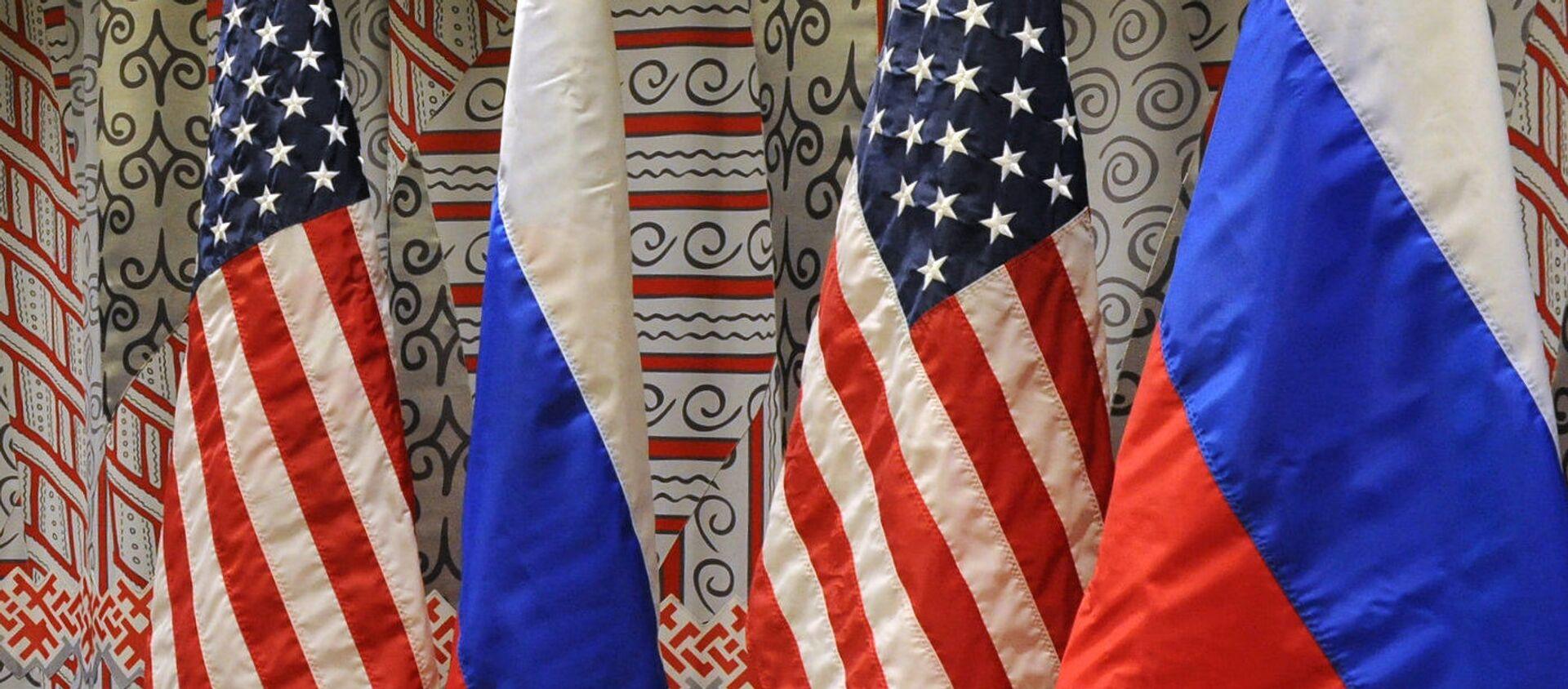 ロシアと米国の旗 - Sputnik 日本, 1920, 11.07.2021