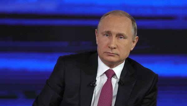 プーチン大統領の国民対話 - Sputnik 日本
