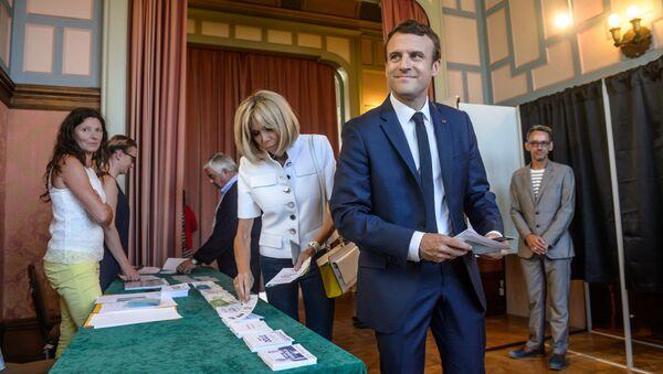 フランス総選挙 マクロン新党圧勝 - Sputnik 日本
