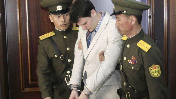 米大学生の拘束後死亡で両親が北朝鮮提訴 「拷問受け殺害された」 - Sputnik 日本