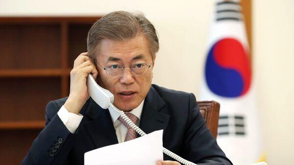 韓国の文大統領 - Sputnik 日本
