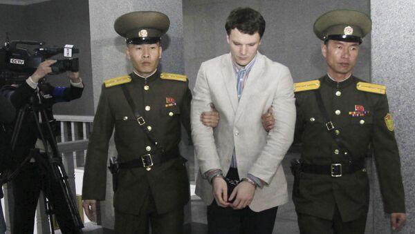 北朝鮮、オットー・ワームビア氏への拷問を否定 「彼の死亡、われわれにとっても謎」 - Sputnik 日本