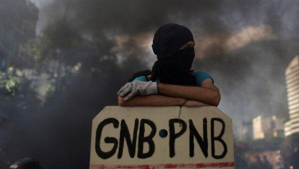 武装グループがベネズエラ最高裁に手榴弾を投下 大統領の退陣要求 - Sputnik 日本
